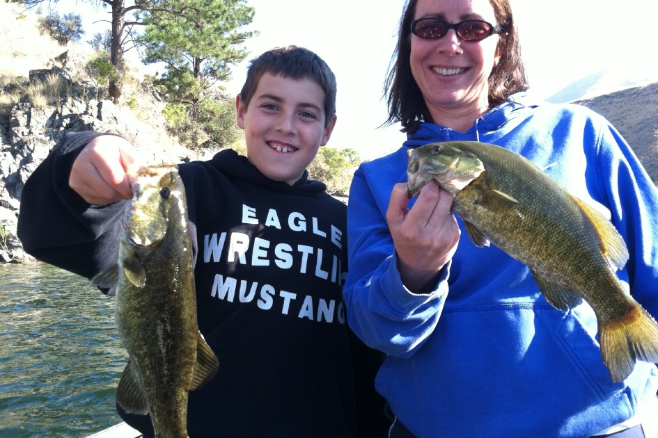 Idaho bass fishing guides
