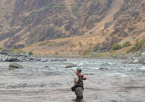 snake river fly fishing lodges