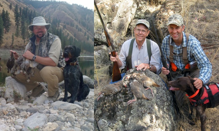 upland game bird hunting lodge chukar hunts cast and blast