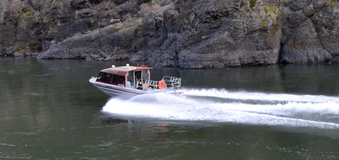 Fall Chinook Salmon Jet Boat Fishing in Hells Canyon